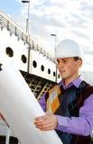 Thème industriel : architecte. Photos stock