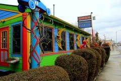 Thème lunatique de nostalgie colorée, le wagon-restaurant de papier de lune, le Maryland, 2015 Images libres de droits
