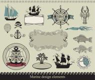 Thème marin illustration stock