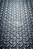 Thème texturisé en métal avec le fond brouillé Photo libre de droits