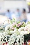 Thème thaïlandais de mariage Image libre de droits