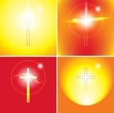 Thèmes chrétiens illustration de vecteur