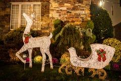 Thèmes de Noël Images stock