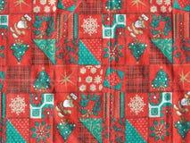 Thèmes de Noël Photographie stock libre de droits