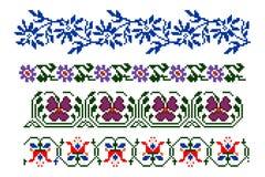 Thèmes traditionnels roumains Photographie stock libre de droits