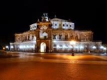 Théâtre à Dresde Photographie stock libre de droits