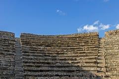 Théâtre à Pompeii Italie photographie stock libre de droits