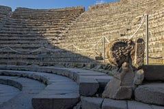 Théâtre à Pompeii Italie photo stock