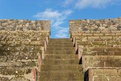 Théâtre à Pompeii Italie images libres de droits