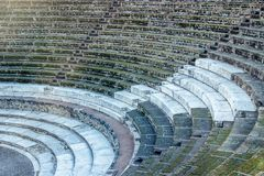 Théâtre à Pompeii Italie image stock