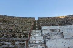 Théâtre à Pompeii Italie photo libre de droits