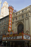 Théâtre 2 de Chicago Photographie stock libre de droits