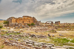 Théâtre antique dans Hierapolis Photo stock