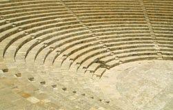 Théâtre antique dans Kourion Image libre de droits