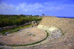 Théâtre antique en salamis Photo libre de droits