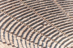 Théâtre antique Epidaurus, plan rapproché d'Argolida, Grèce photos libres de droits