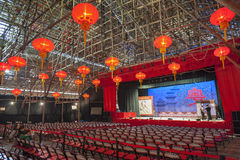 Théâtre chinois d'opéra Image libre de droits