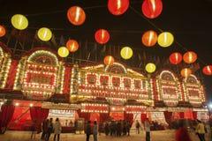 Théâtre chinois d'opéra Photographie stock libre de droits