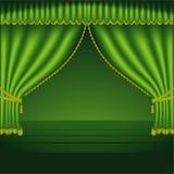Théâtre Courtains 02 illustration libre de droits