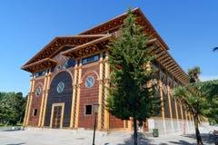 Théâtre d'été en parc de bord de la mer Batumi, la Géorgie Images stock