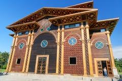 Théâtre d'été en parc de bord de la mer Batumi, la Géorgie Images libres de droits