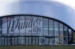 Théâtre d'étape chez l'Elbe image stock
