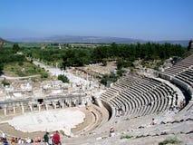 Théâtre d'Ephesus photographie stock