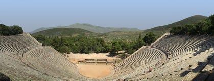 Théâtre d'Epidauros Photos stock