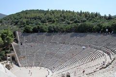 Théâtre d'Epidaurus - Grèce image stock