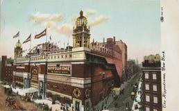 Théâtre d'hippodrome à New York Image libre de droits
