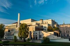 Théâtre d'opéra et de ballet à Riga Photographie stock