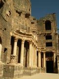 Théâtre dans Bosra, Syrie Images libres de droits