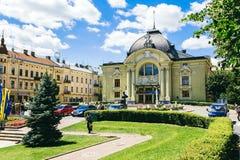 Théâtre dans Chernivtsi Photographie stock libre de droits