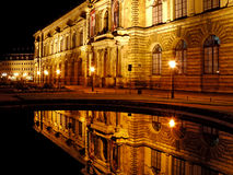 Théâtre dans la vieille ville Dresde Photos stock