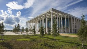 Théâtre de ballet à Astana Photos stock