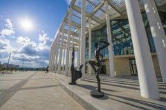 Théâtre de ballet à Astana Photographie stock libre de droits