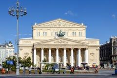Théâtre de Bolshoi à Moscou, Russie photo stock