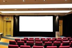 Théâtre de conférence vide Image stock