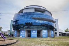 Théâtre de dôme de l'hôpital IMAX de la Floride Images libres de droits