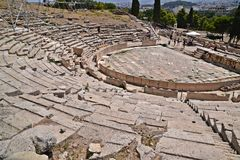 Théâtre de Dionysus Photos stock