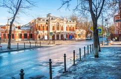 Théâtre de drame de Pushkin images libres de droits