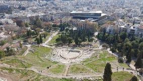 Théâtre de Grec de Dioniso Photographie stock