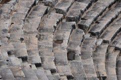 Théâtre de Hierapolis, Pamukkale, Denizli Photos stock
