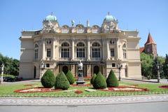 Théâtre de Juliusz SÅowacki, Cracovie, Pologne Photographie stock libre de droits