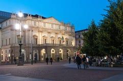 Théâtre de La Scala à Milan Images stock