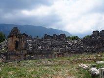 Théâtre de la ville antique de Tlos Fethiye image stock