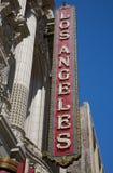 Théâtre de Los Angeles Photos stock