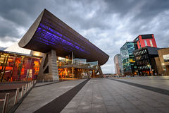 Théâtre de Lowry, Salford, Manchester, Angleterre, R-U photo libre de droits