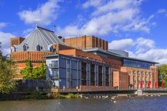 Théâtre de mémorial de Shakepeare Images libres de droits