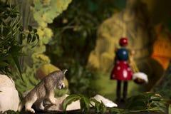 Théâtre de marionnette Photographie stock libre de droits